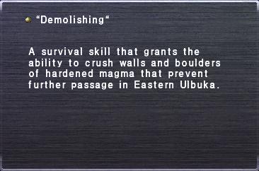 """Demolishing"""