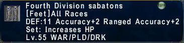 Fourth Division Sabatons