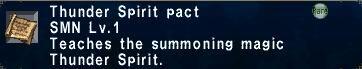 Thunder Spirit Pact