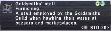 Goldsmiths' Stall