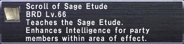 Sage Etude