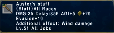 Auster's Staff