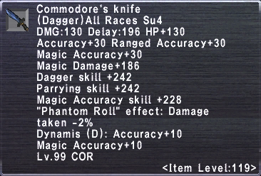 Commodore's Knife