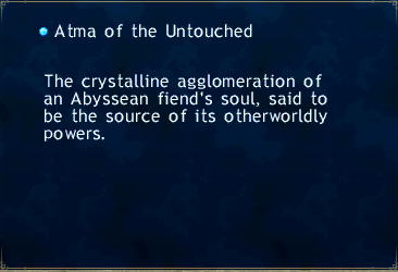 Atma of the Untouched