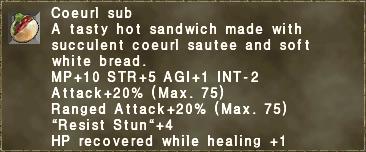 Coeurl Sub
