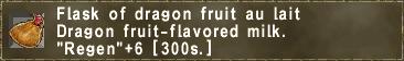 Dragon Fruit au Lait
