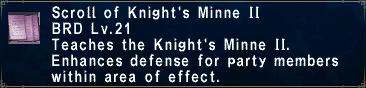 Knight's Minne II