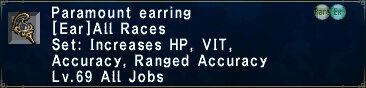 Paramount Earring