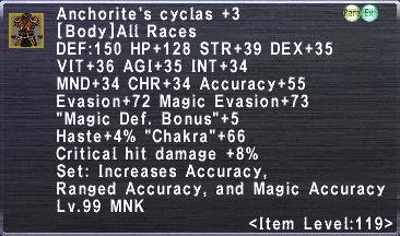 Anchorite's Cyclas +3