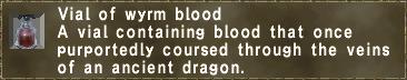 Wyrm Blood
