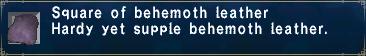 Behemoth Leather