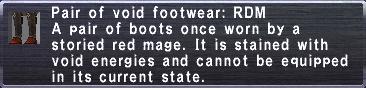Voidfoot: RDM