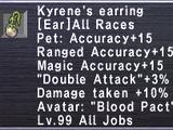 Kyrene's Earring