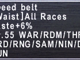 Speed Belt