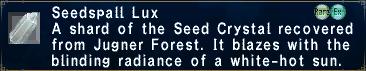 Seedspall Lux