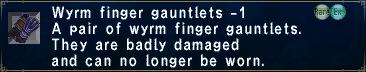 Wyrm Finger Gauntlets -1