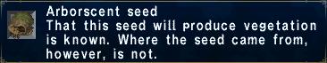 Arborscent Seed