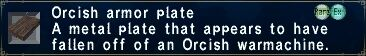 Orcish Armor Plate