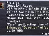 Piety Cap