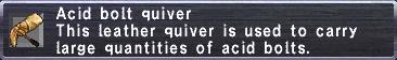 Acid Bolt Quiver