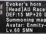 Evoker's Horn