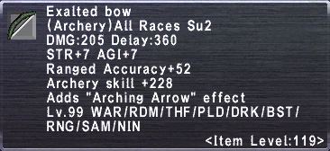 Exalted Bow