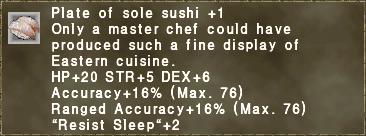 Sole Sushi +1