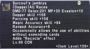 Surcouf's Jambiya