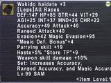 Wakido Haidate +3