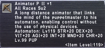 Animator P II +1