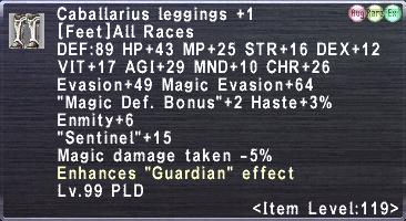 Caballarius Leggings +1