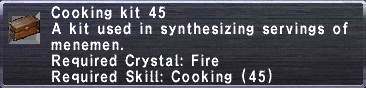 Cooking Kit 45