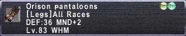 Orison Pantaloons