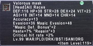 Valorous Mask