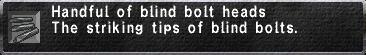Blind Bolt Heads