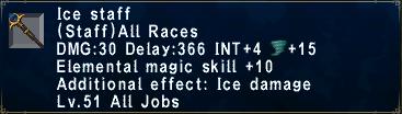 Ice Staff