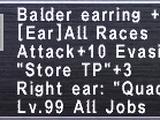 Balder Earring +1