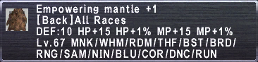 Empowering Mantle +1