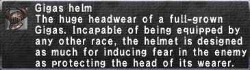 Gigas Helm
