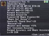 Laksamana's Frac +3