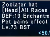 Zoolater Hat