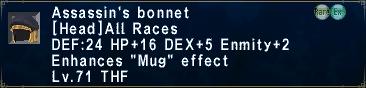 Assassin's Bonnet