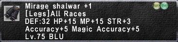 Mirage Shalwar +1