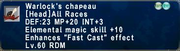 Warlock's Chapeau