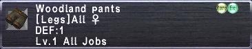 Woodland Pants