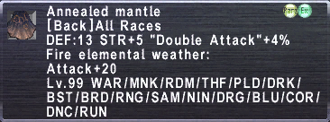 Annealed Mantle