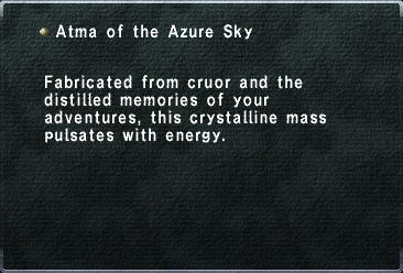 Atma of the Azure Sky