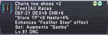 Charis Shoes +2