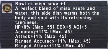 Miso Soup +1