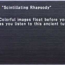 Scintillating Rhapsody